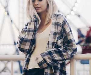 casual fashion and flannel shirts image