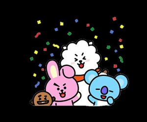 rj, cooky, and bts image