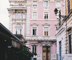 pink, travel, and city image