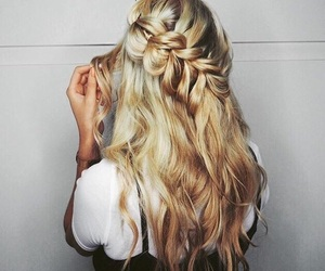 beautiful hair, blonde, and fashion image
