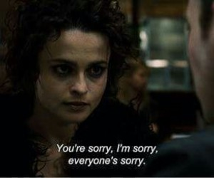sorry, quotes, and fight club image