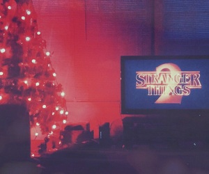 80s, aesthetic, and christmas image