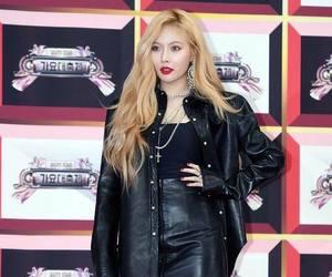 fashion, kim hyuna, and kpop image