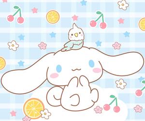 cinnamoroll, kawaii, and sanrio image
