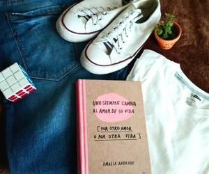 converse, libros, and tumblr image