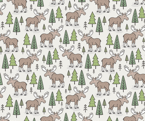 animal, background, and forest image