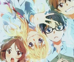 anime, your lie in april, and shigatsu wa kimi no uso image