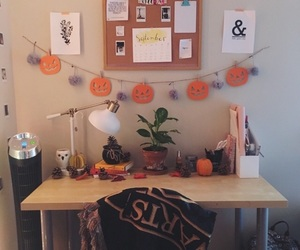 decor, fall, and Halloween image