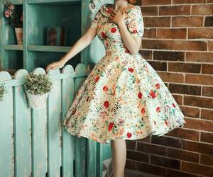 50s, classy, and dress image