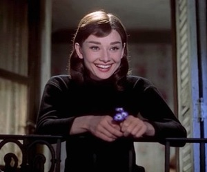 audrey hepburn, funny face, and gif image
