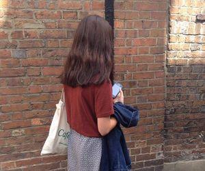 girl, skirt, and grunge image