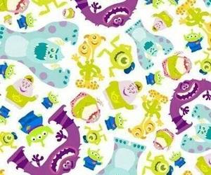 wallpaper, disney, and monsters university image
