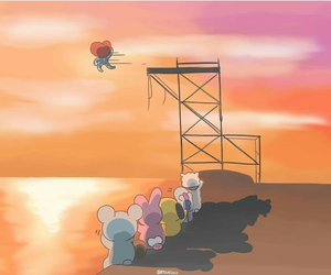 bts, butterfly, and rj image
