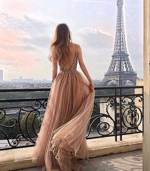 paris, dress, and fashion image