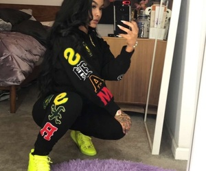 model, outfit, and india love image
