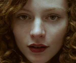 beauty, ginger, and red image