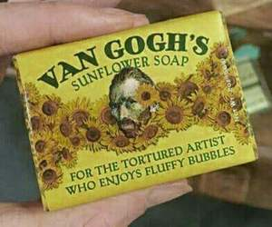 yellow, van gogh, and art image