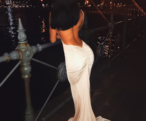 girl, dress, and goals image