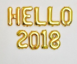 article, 2018, and new year image