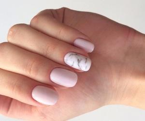 nails, pink, and beautiful image