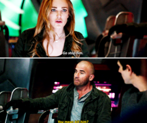 sara lance, mick rory, and legends of tomorrow image