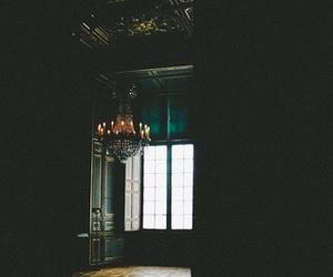 chandelier, hipster, and vintage image