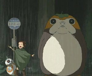 anime, totoro, and bb8 image