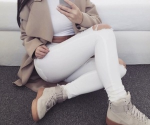apple, white, and clothing image