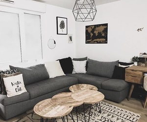 home, living room, and déco image