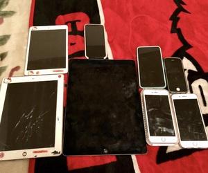 apple, ipad, and iphone5 image