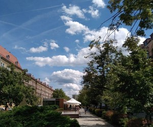 blue sky, photography, and aeshetic image