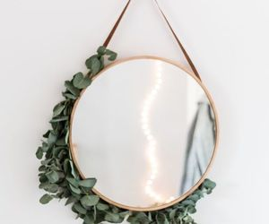 leaves, mirror, and mirrors image