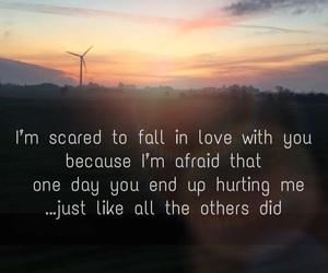 afraid, broken, and falling image