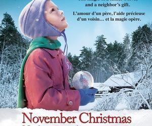 christmas, little girl, and magic image