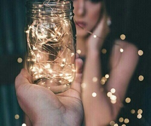 fairy lights, photography, and goals image