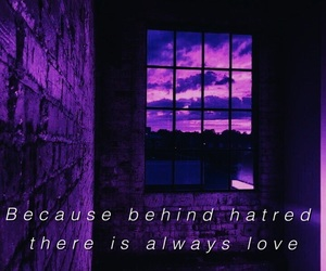 mood, purple, and quotes image