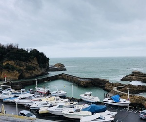 beautiful, boats, and france image