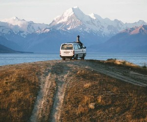 explore, mountains, and travel image
