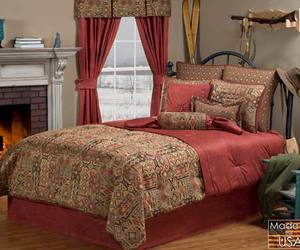 bed, brown, and collection image