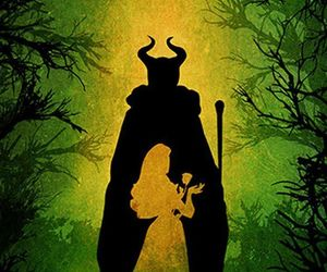 disney, sleeping beauty, and maleficent image