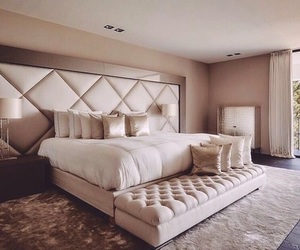 bedroom, luxury, and interior image