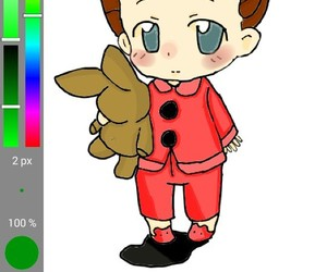 adorable, app, and draw image