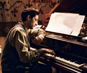 the pianist, piano, and adrien brody image