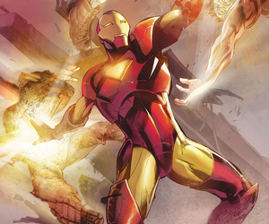 comic books, comics, and iron man image