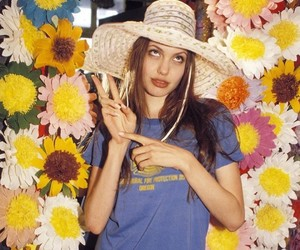 Angelina Jolie, 90s, and girl image