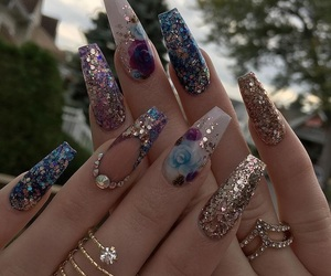 beauty, bling, and girly image