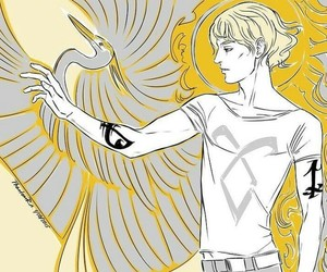 jace, the mortal instruments, and cassandra clare image