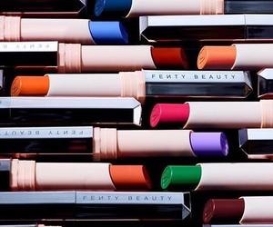 lipstick and fenty beauty image