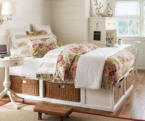 bed and storage image