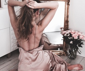 dress, hair, and inspiration image